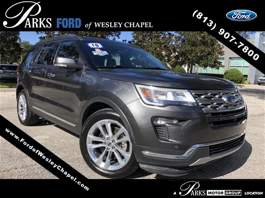 2018 ford explorer limited for sale ford of wesley chapel near lakeland fl skuha65529a parks ford of wesley chapel