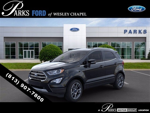 new 2020 ford ecosport titanium for sale ford of wesley chapel near lakeland fl skup361879 parks ford of wesley chapel