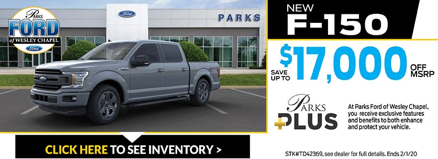 Wesley Chapel Ford >> Parks Ford Of Wesley Chapel New Used Car Dealer Near Tampa